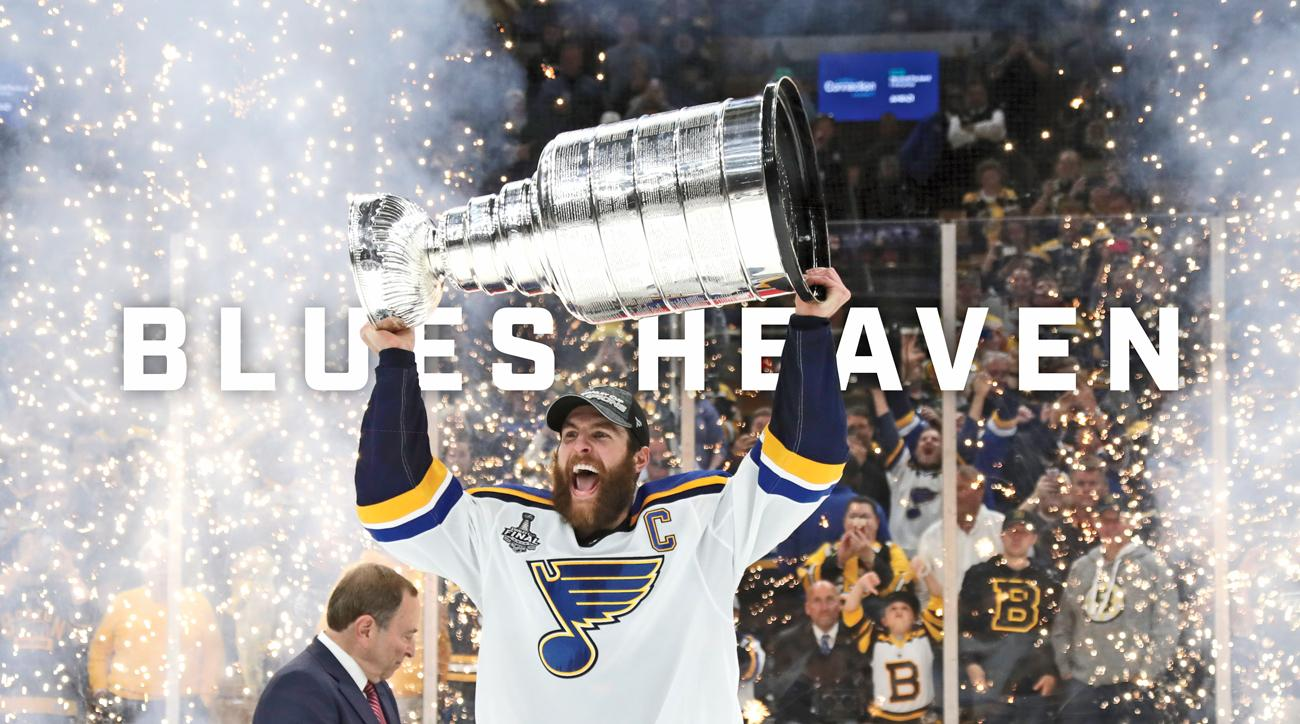 St Louis Blues win 2019 Stanley Cup Final Bruins Game 7