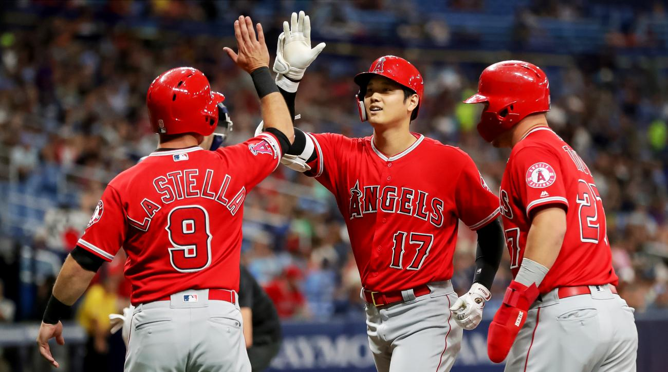Los Angeles Angels v Tampa Bay Rays