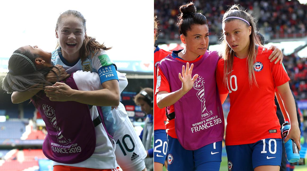 Argentina and Chile have battled inequality at home en route to places at the Women's World Cup