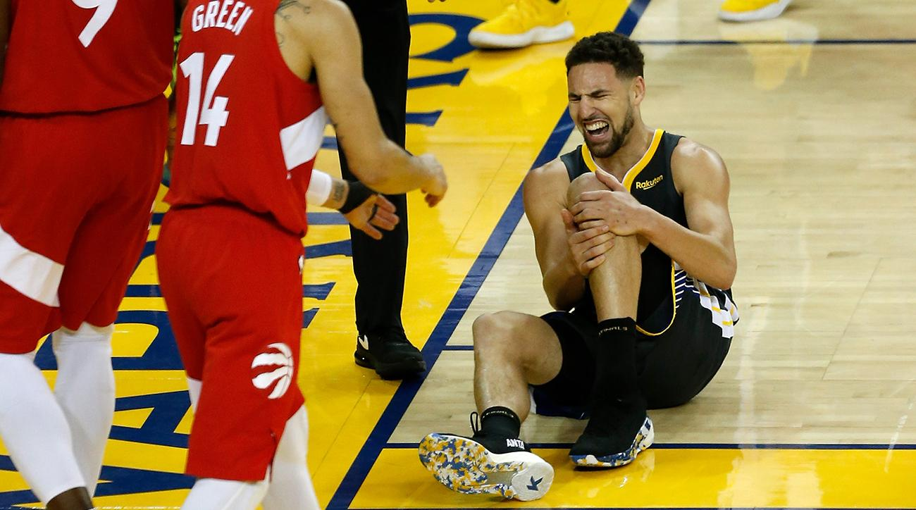Report: Klay Thompson Expected to Miss 9-10 Months With Torn ACL