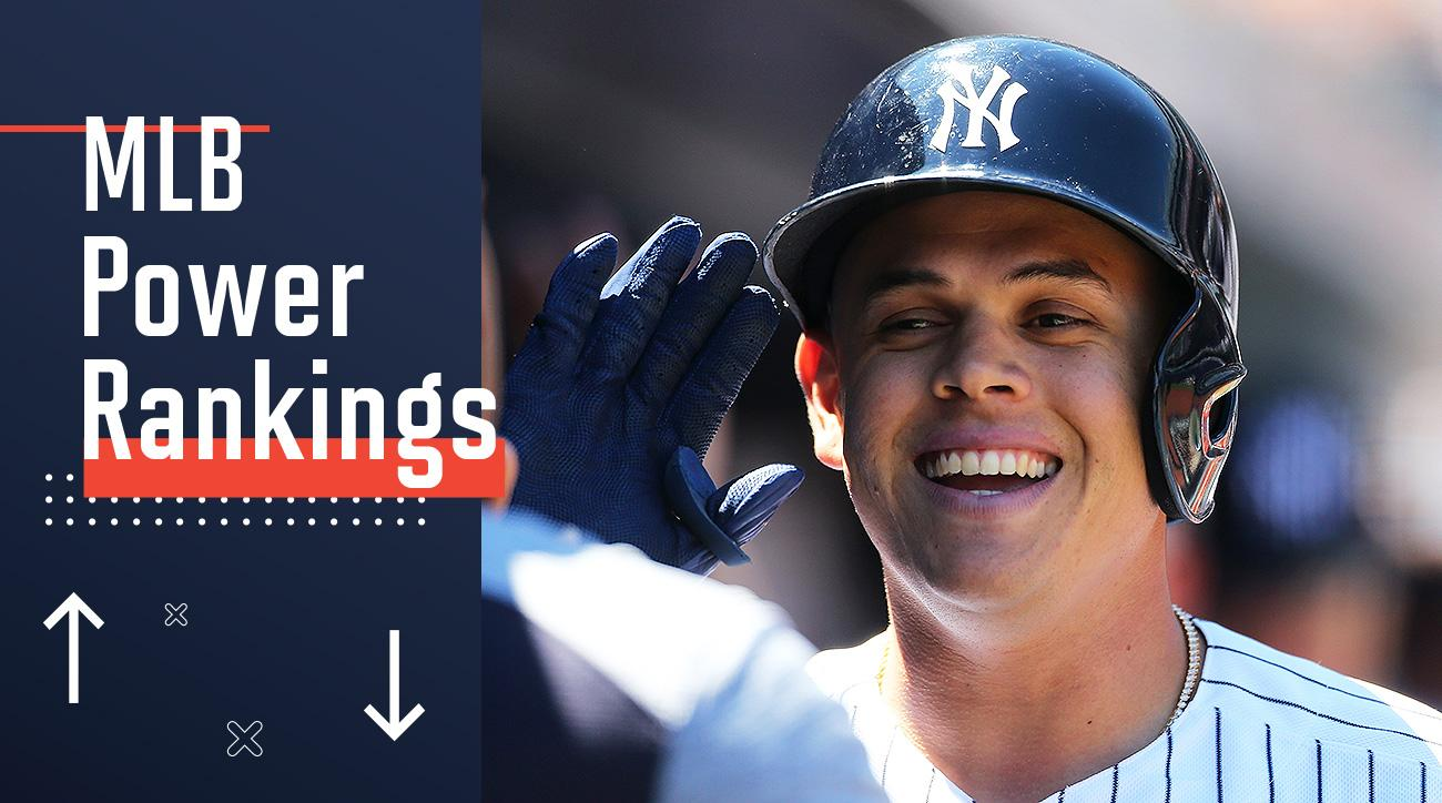 MLB Power Rankings standings Yankees Gio Urshela