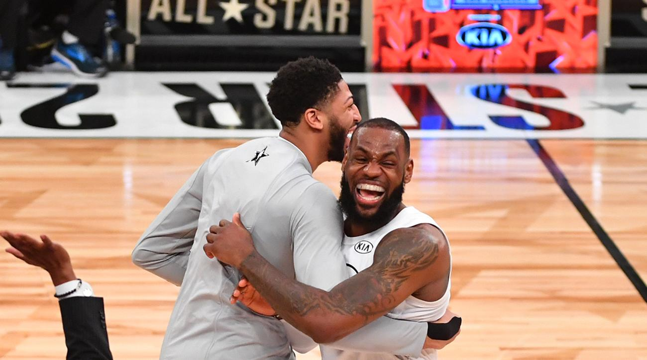 LeBron James Welcomes Anthony Davis to Lakers: 'Let's Get It Bro'