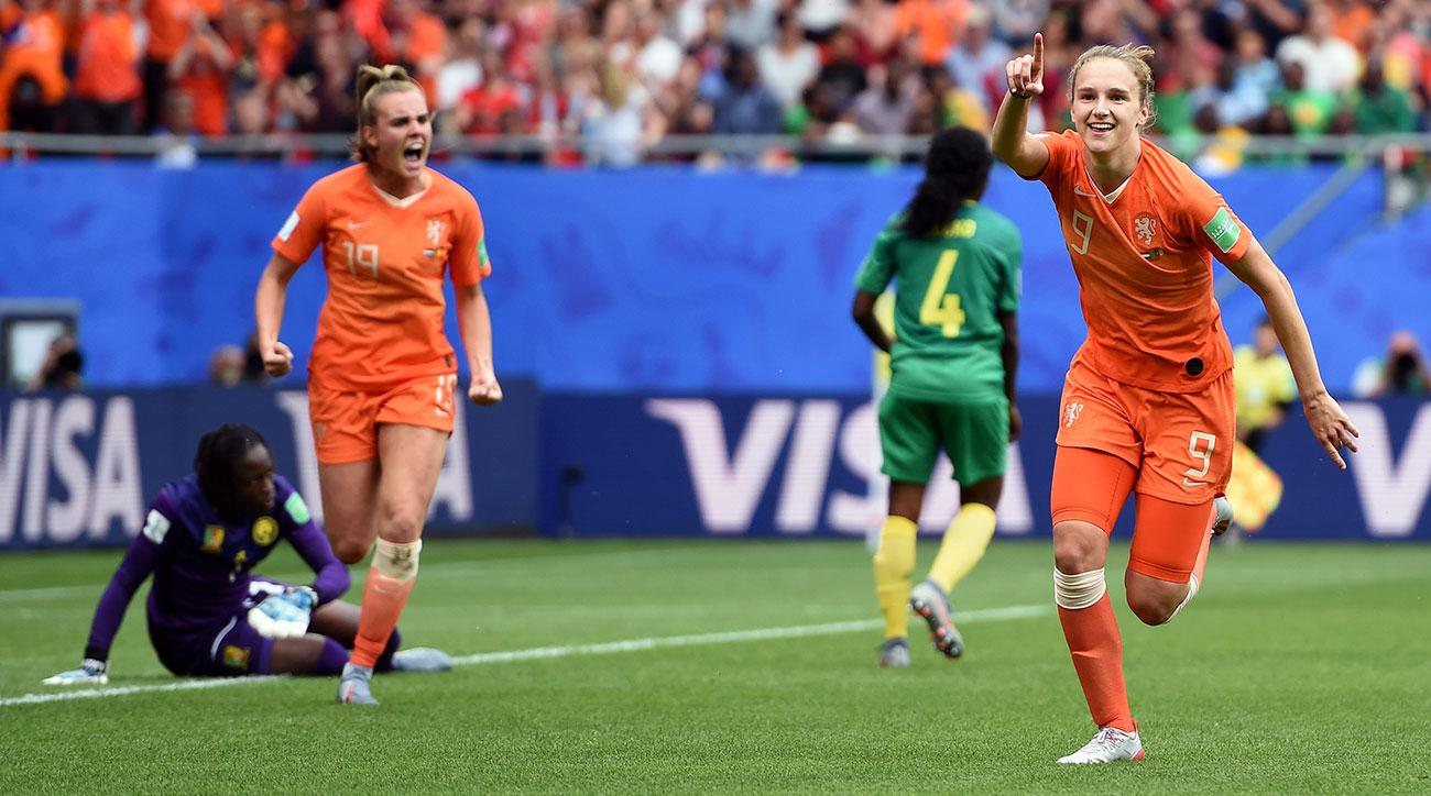 Miedema Grabs Brace Against Cameroon as Netherlands Advances to Knockout Stage