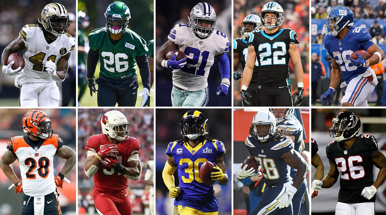 Best Rb Fantasy 2020.Ranking The Nfl S Top 10 Running Backs For 2019 Sports