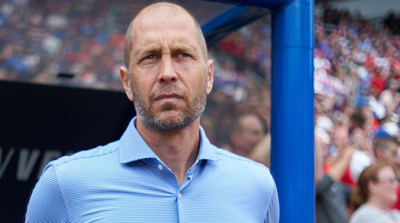 Gregg Berhalter will coach the USA in his first competitive matches at the Gold Cup