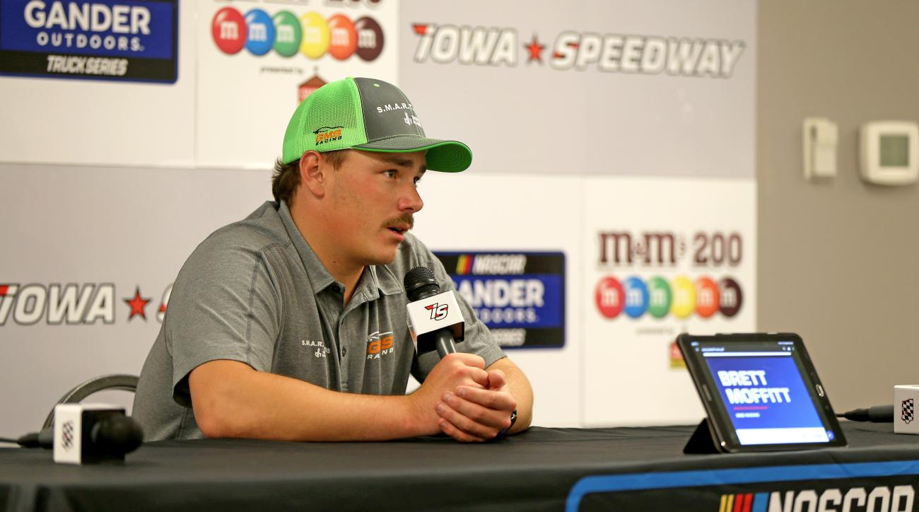 Brett Moffitt Benefits as NASCAR Overturns a Victory For the First Time Since 1960