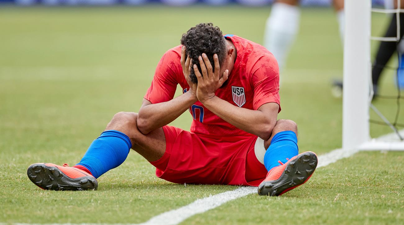 USA's Duane Holmes Out for Gold Cup, Replaced by Djordje Mihailovic