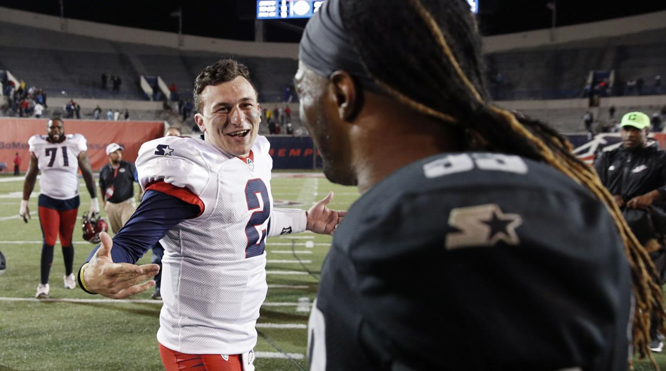 XFL Commissioner Oliver Luck Unsure If Johnny Manziel Will Be in Draft