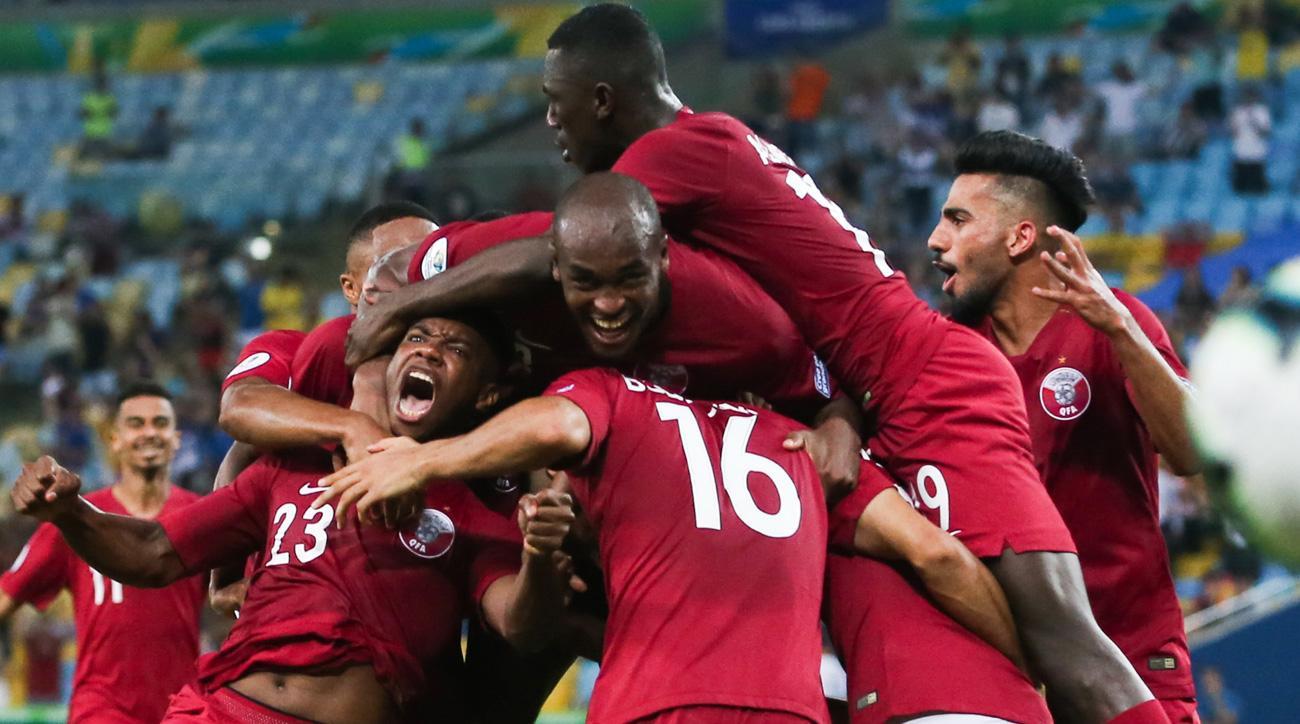 Qatar draws Paraguay at Copa America