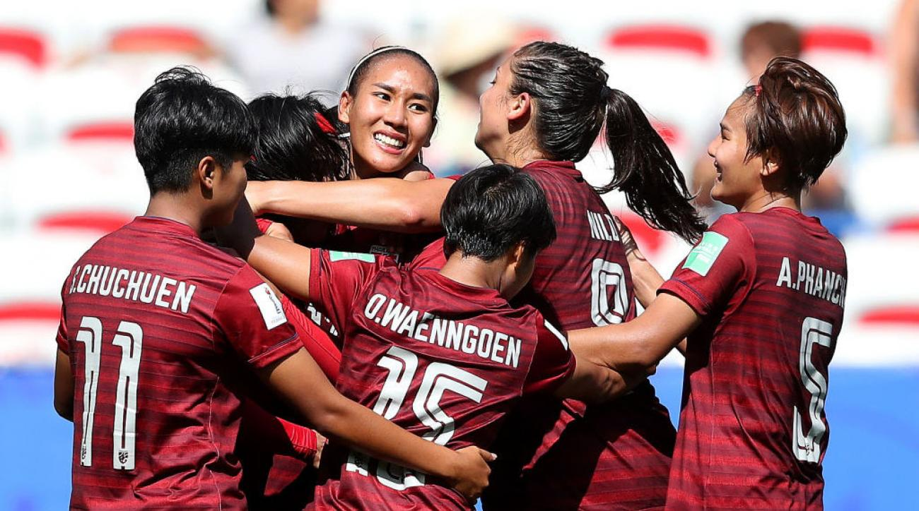 After USA Rout, Thailand Scores at Women's World Cup vs. Sweden