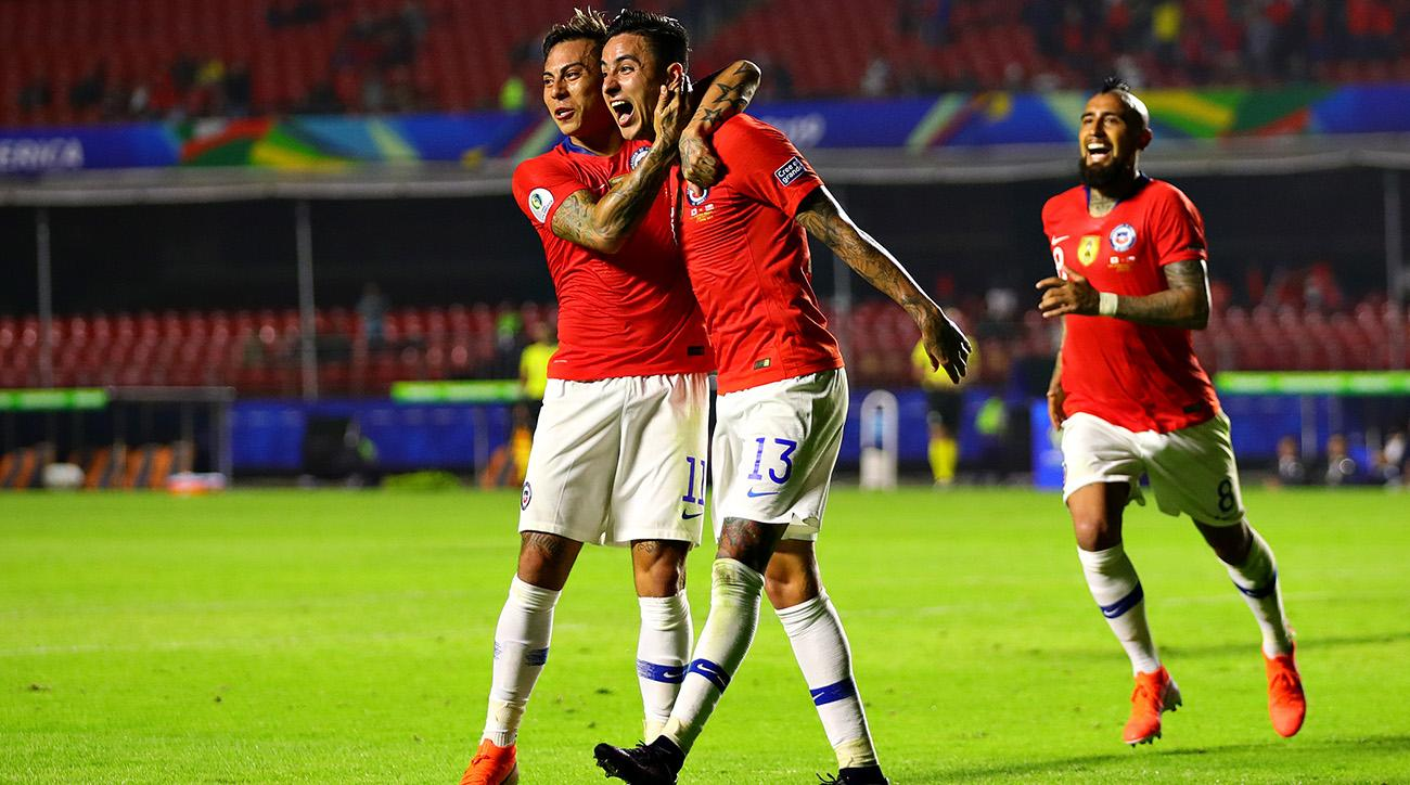 Eduardo Vargas's Historic Night Sees Chile Begin Copa America Title Defense With Win