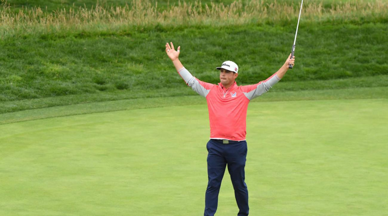 Gary Woodland FaceTimes Special Olympian Amy Bockerstette After US Open Victory