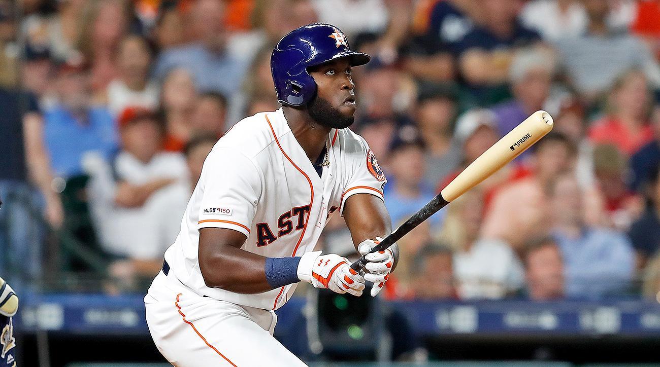 Houston Astros Yordan Alvarez call up stats