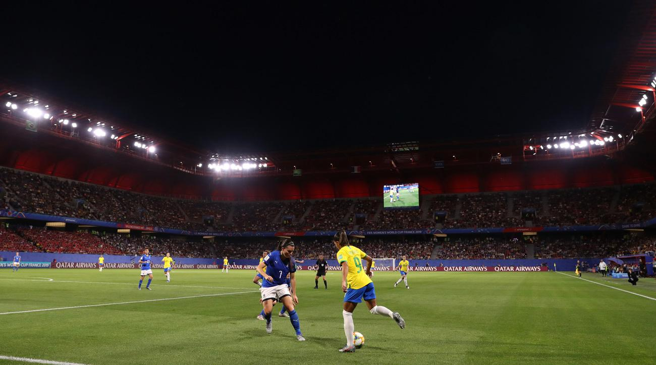 Brazil faces Italy at the Women's World Cup