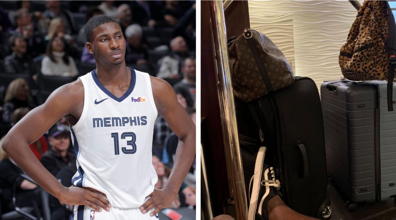 Jaren Jackson Jr. Learns the Hard Way You Must Be 21 to Check-In to Some Hotels