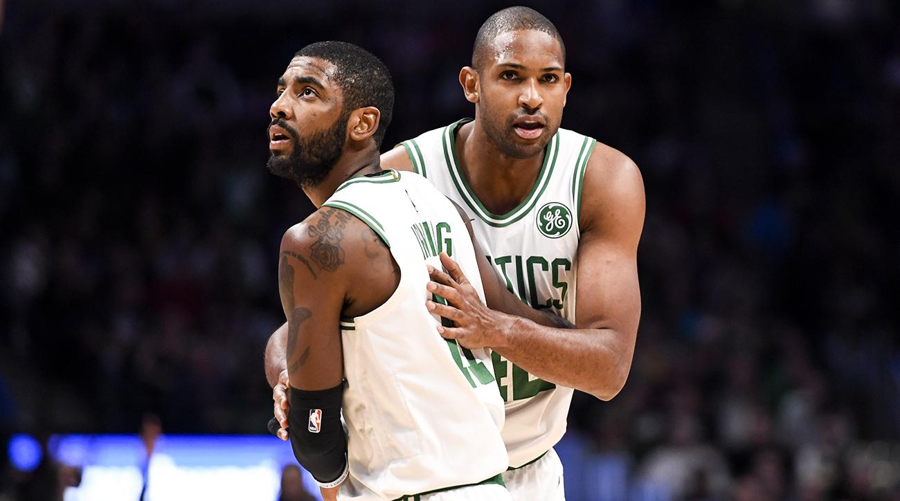 Kyrie Irving and Al Horford