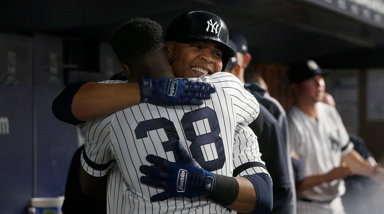 Edwin Encarnacion Yankees lineup