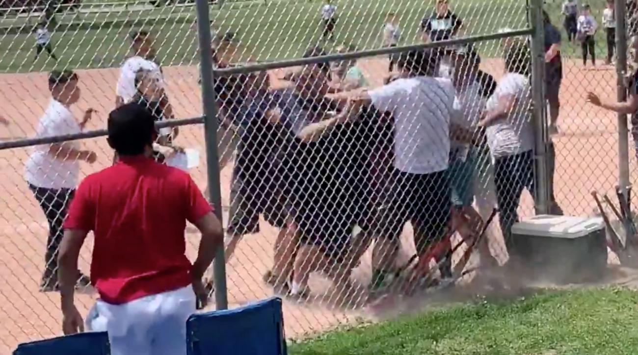 Parents brawl at youth baseball game
