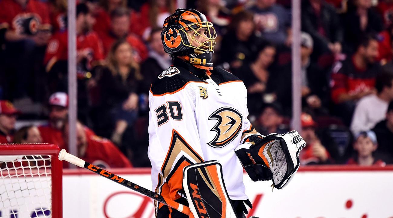 NHL: MAR 29 Ducks at Flames