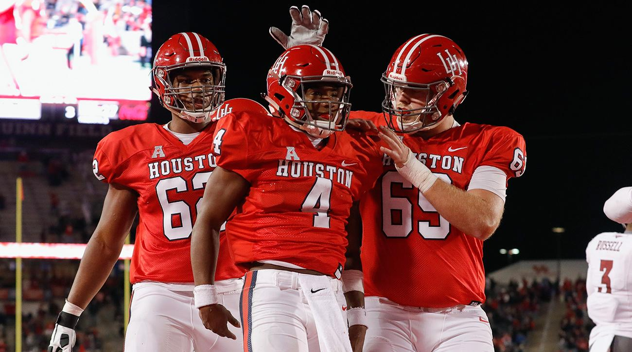 College football rankings: UCF, Houston, Utah State's ceilings
