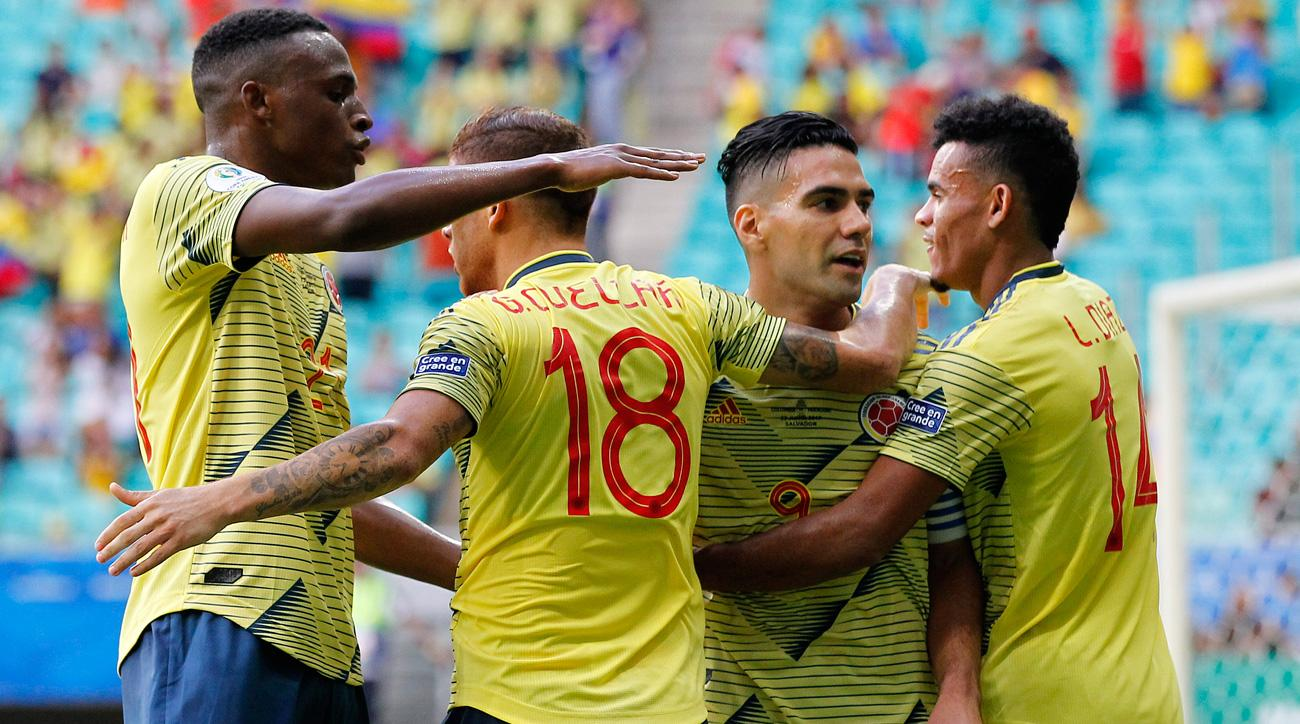 Colombia Beats Paraguay, Finishes Off Perfect Copa America Group Stage