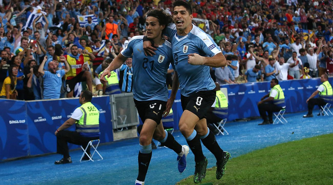 Edinson Cavani's Goal Sees Uruguay Win Group C, Reach Copa America Quarterfinal