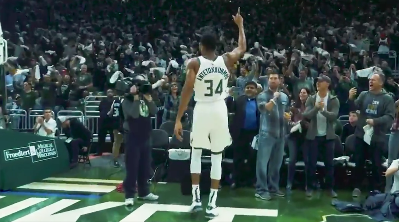 Nike Honors Giannis Antetokounmpo's MVP Award in New Ad