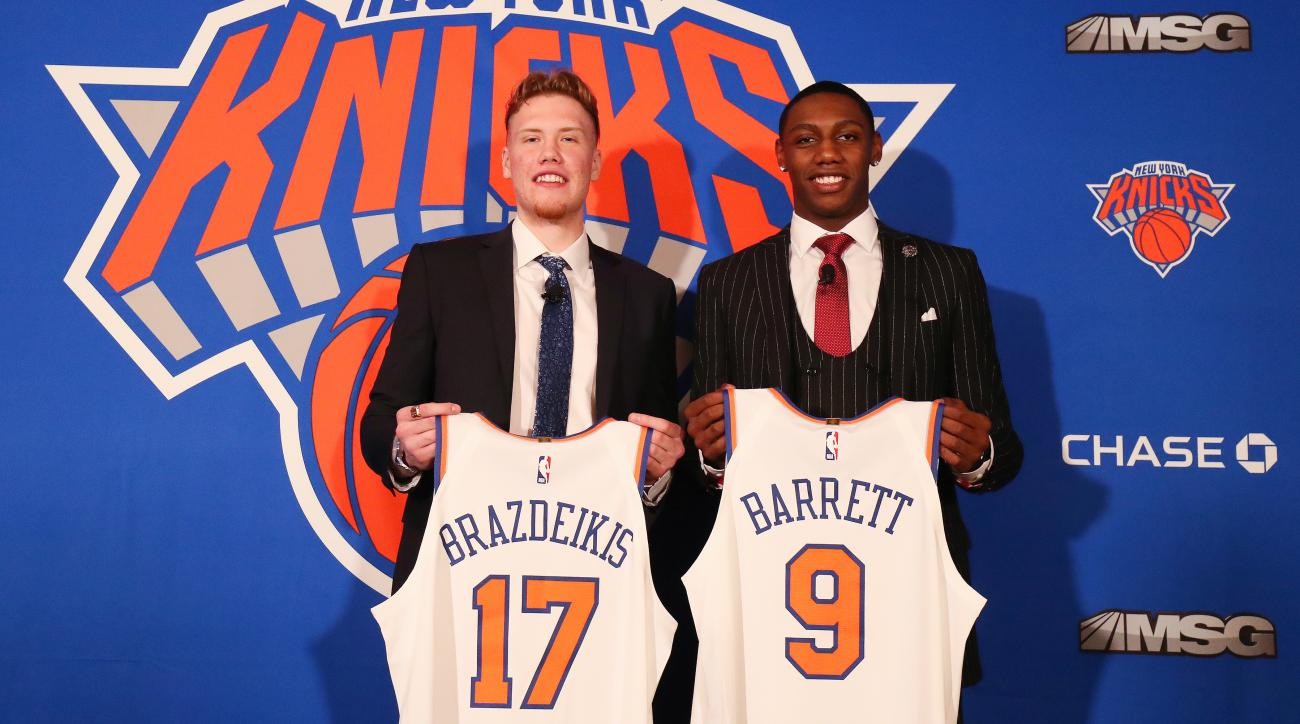Knicks Post Draft Press
