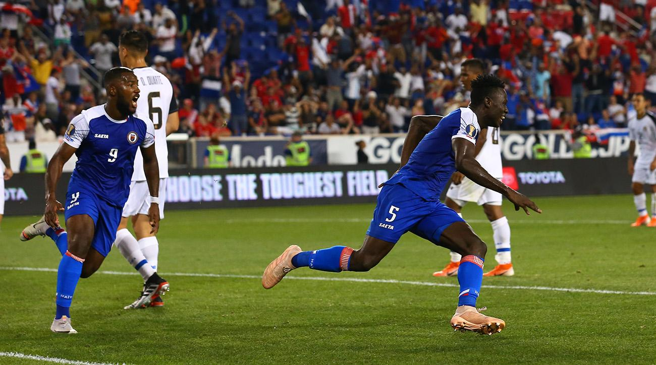 Haiti Beats Costa Rica to Win Group B, Will Face Canada in Gold Cup Quarterfinal