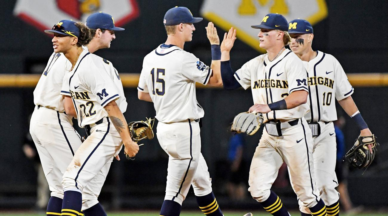Michigan tops Vanderbilt to move 1 win away from championship