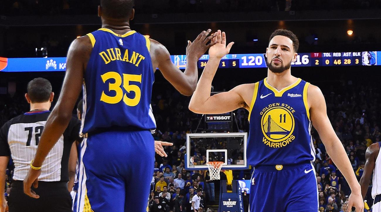 san francisco d54fe 5ee27 NBA free agency: Klay Thompson deal helps Warriors cope with ...