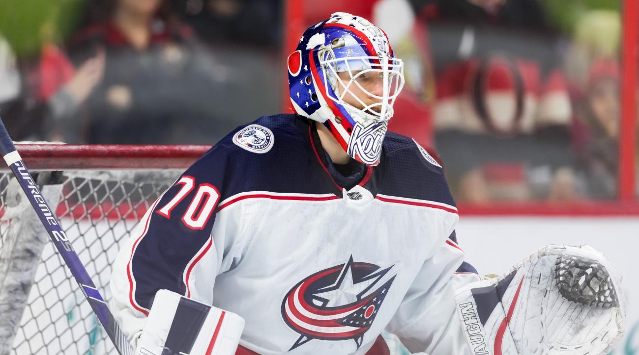 NHL: APR 06 Blue Jackets at Senators