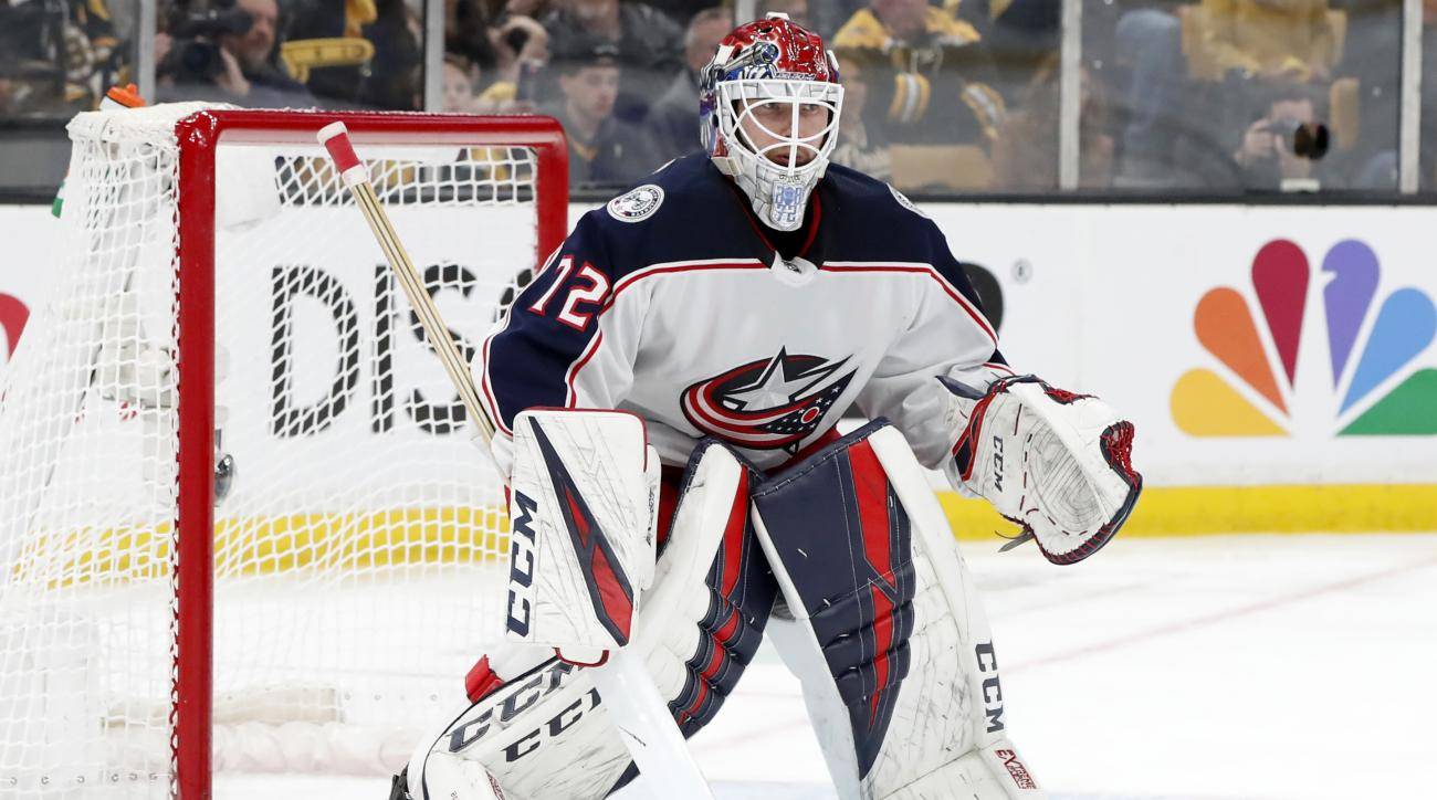 NHL: APR 27 Stanley Cup Playoffs Second Round - Blue Jackets at Bruins