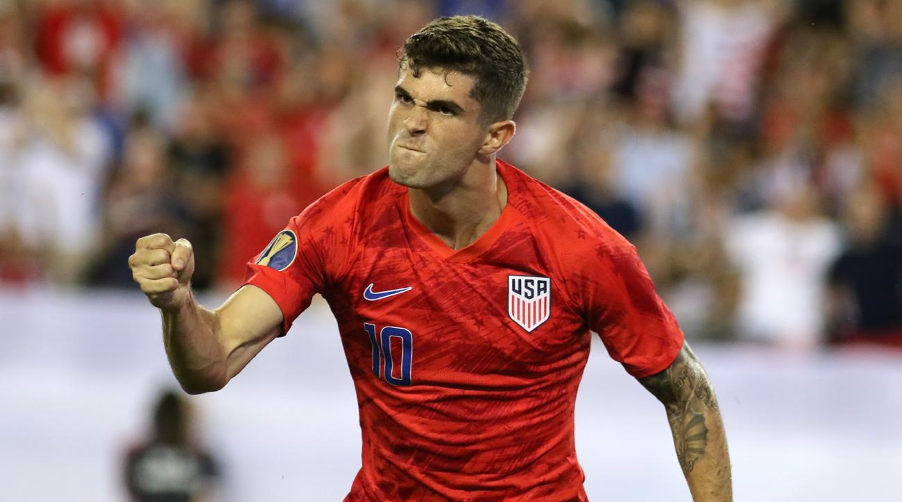 Christian Pulisic scores twice for the USA vs. Jamaica