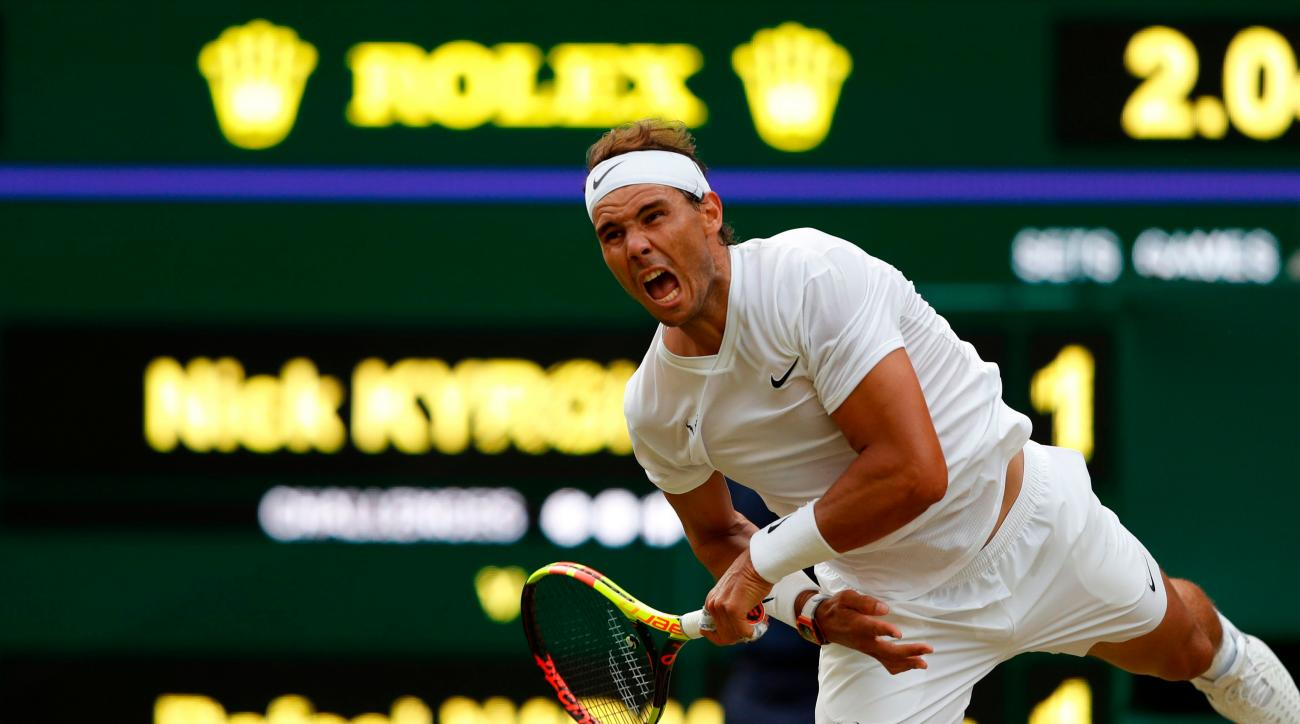 Nadal survives Kyrgios test in bad-tempered Wimbledon thriller