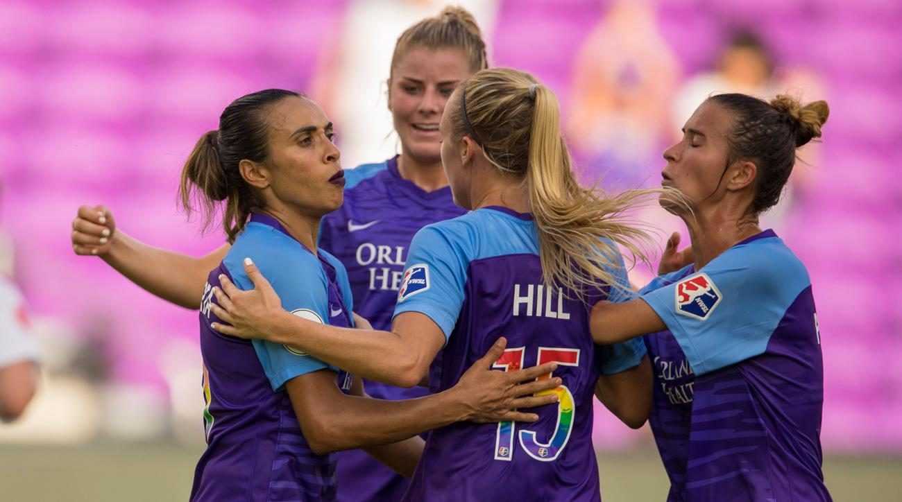 NWSL has a TV deal with ESPN for the rest of the season