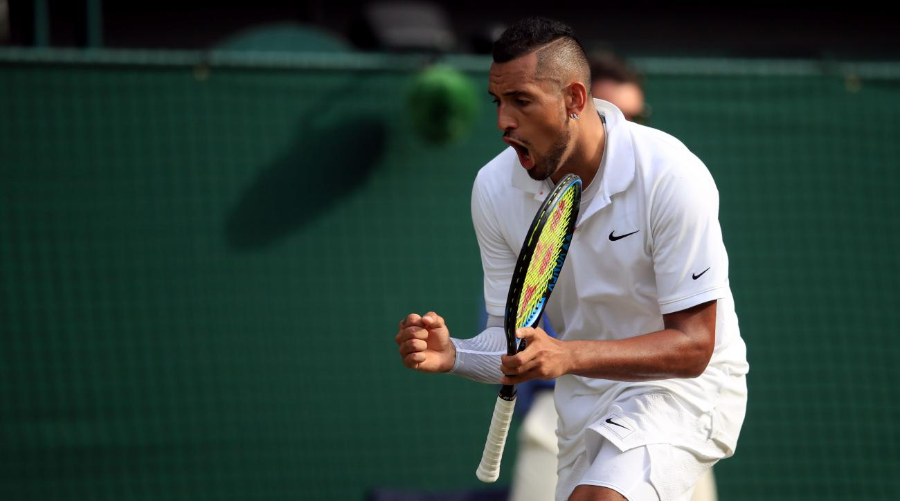 Nick Kyrgios underhand serves vs Rafael Nadal at Wimbledon (video)