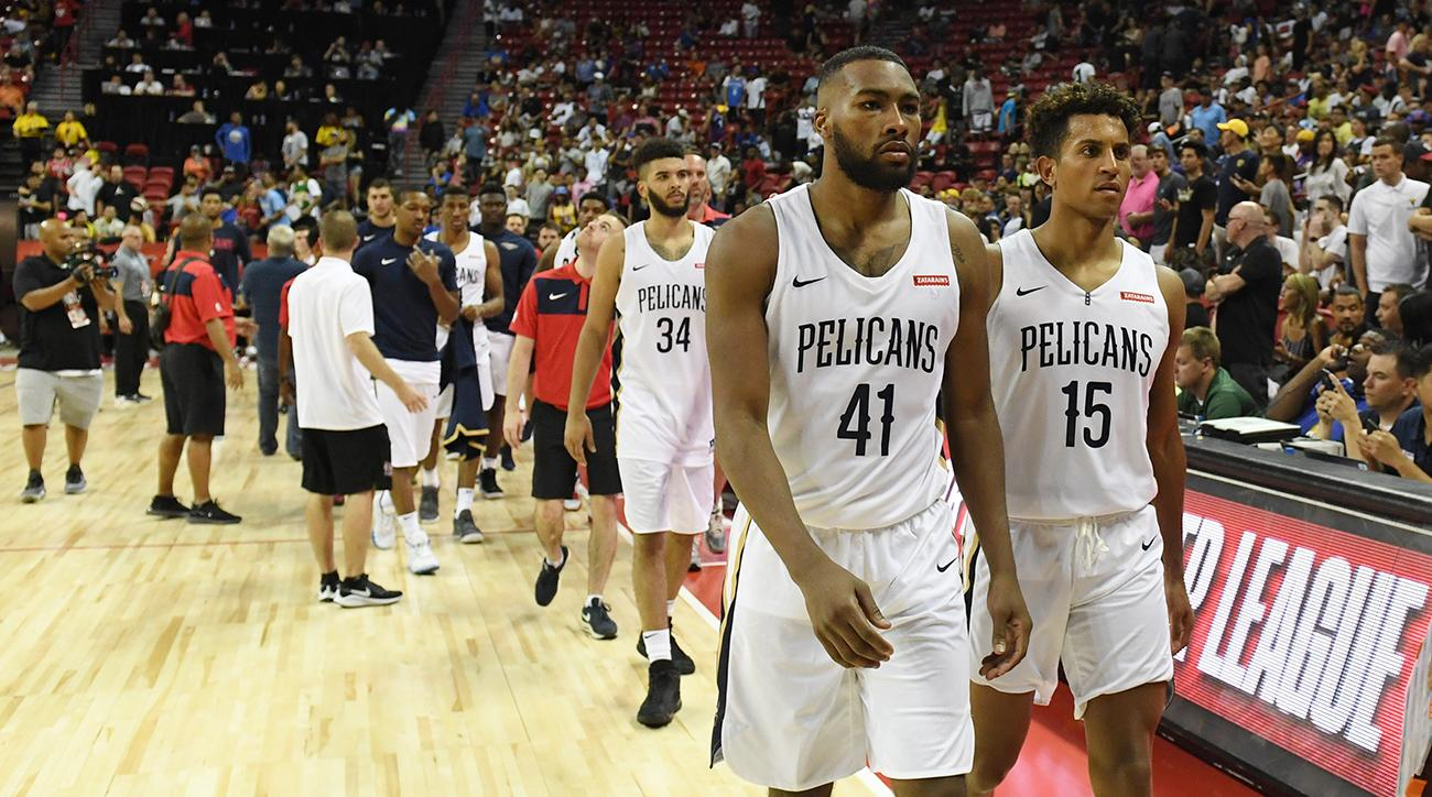 Summer League game delayed by earthquake