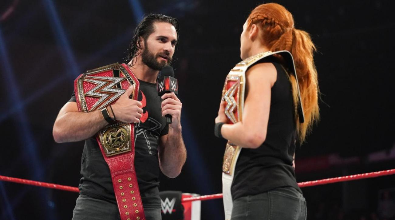 WWE Raw July 8 Preview: Becky Lynch & Seth Rollins Vs