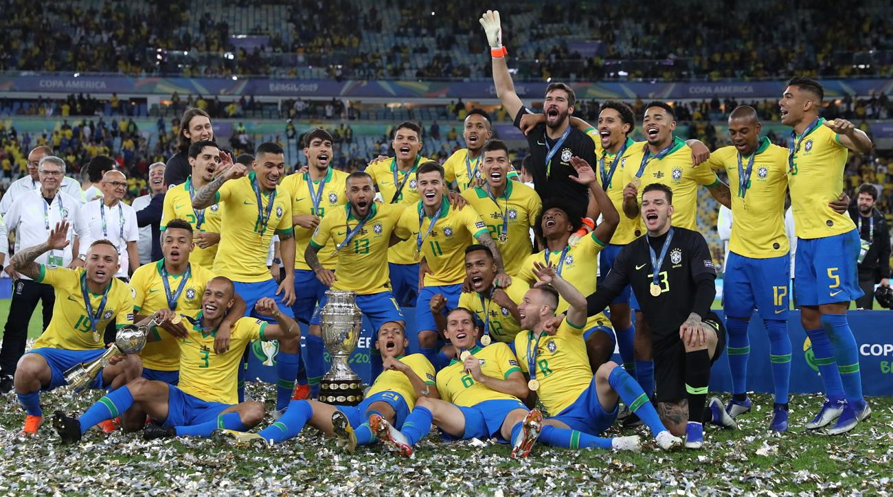 Brazil Shows Character, Quality in Winning Copa America, Restoring Faith