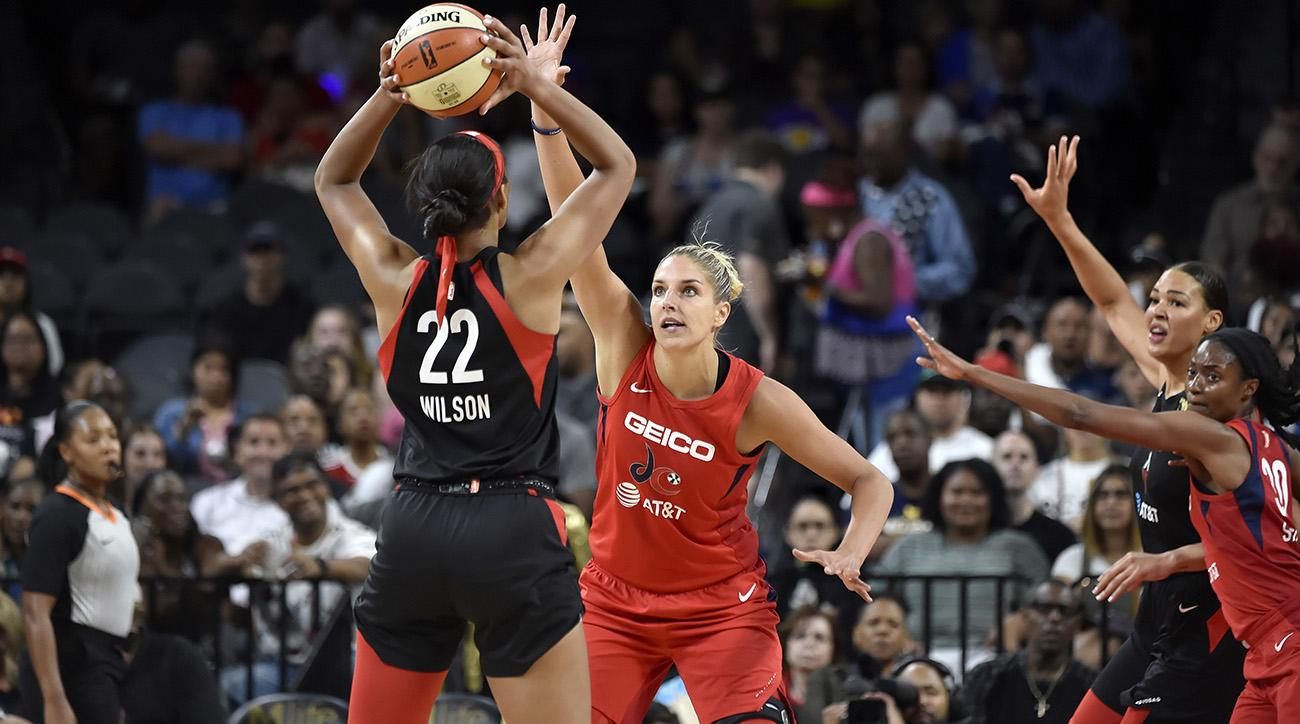 2019 WNBA All Star game voting Elena Delle Donne