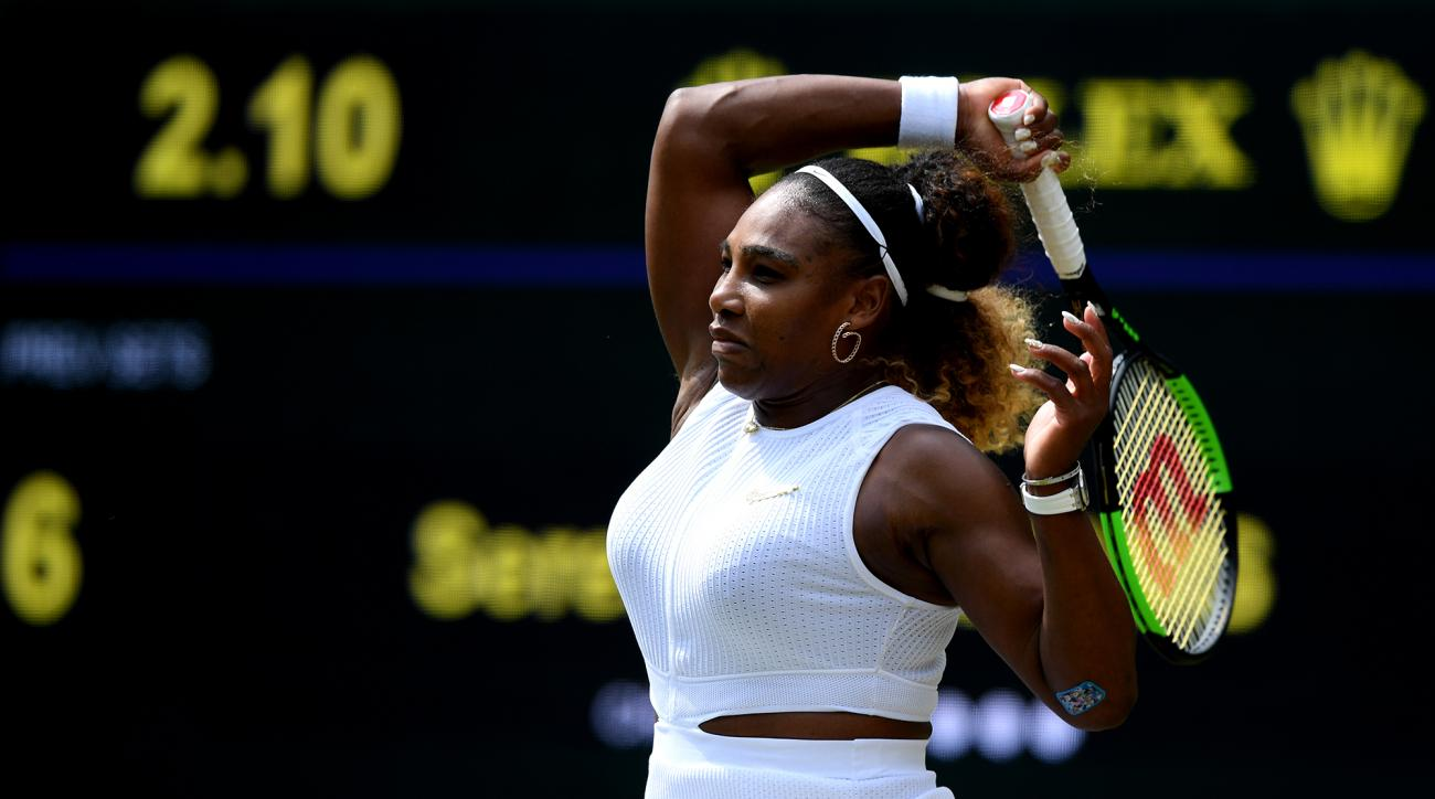 Serena Williams Fined $10,000 for Repeatedly Smashing Her Racket on Wimbledon Court