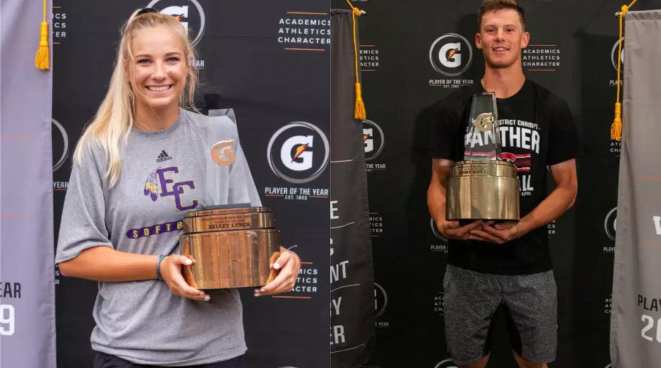 high school, Kelley Lynch, Bobby Witt Jr, 2019 Gatorade Athlete of the Year, wire