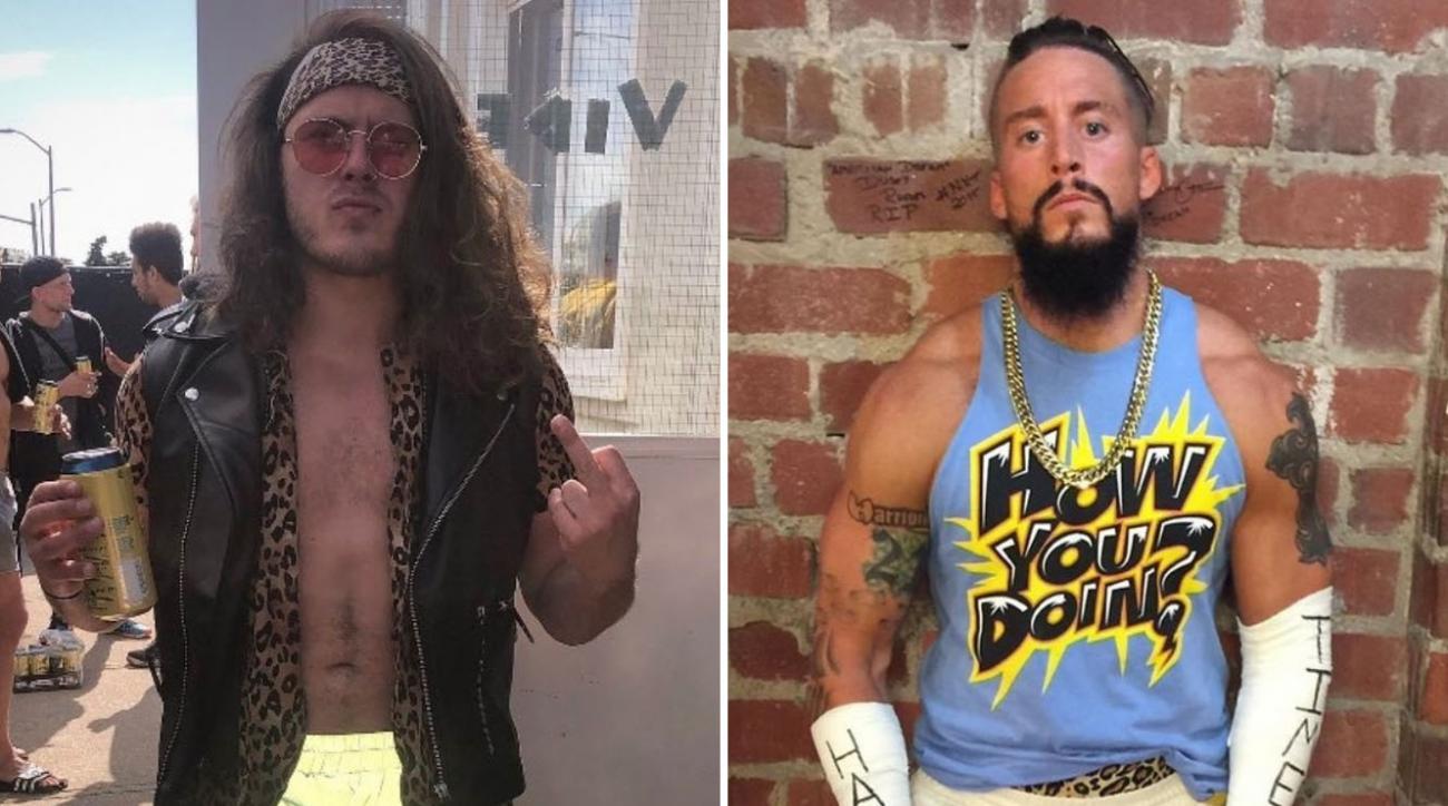Video: Joey Janela, Enzo Amore fight at Blink-182 concert