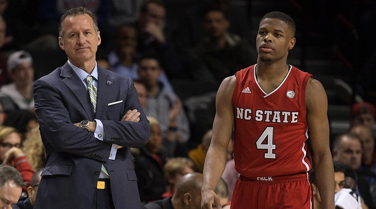 Dennis Smith NC State allegations recruiting Mark Gottfried