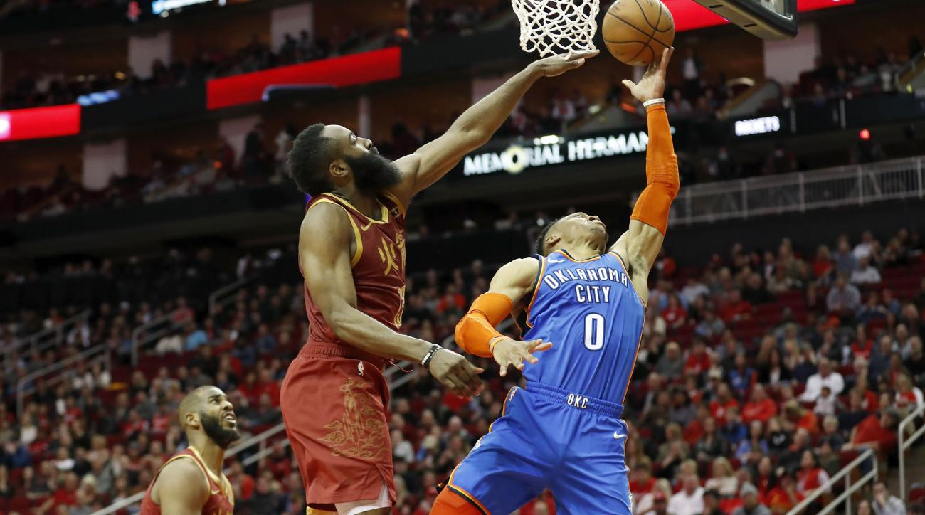 Report: James Harden Was a 'Driving Force' Getting Russell Westbrook to Rockets