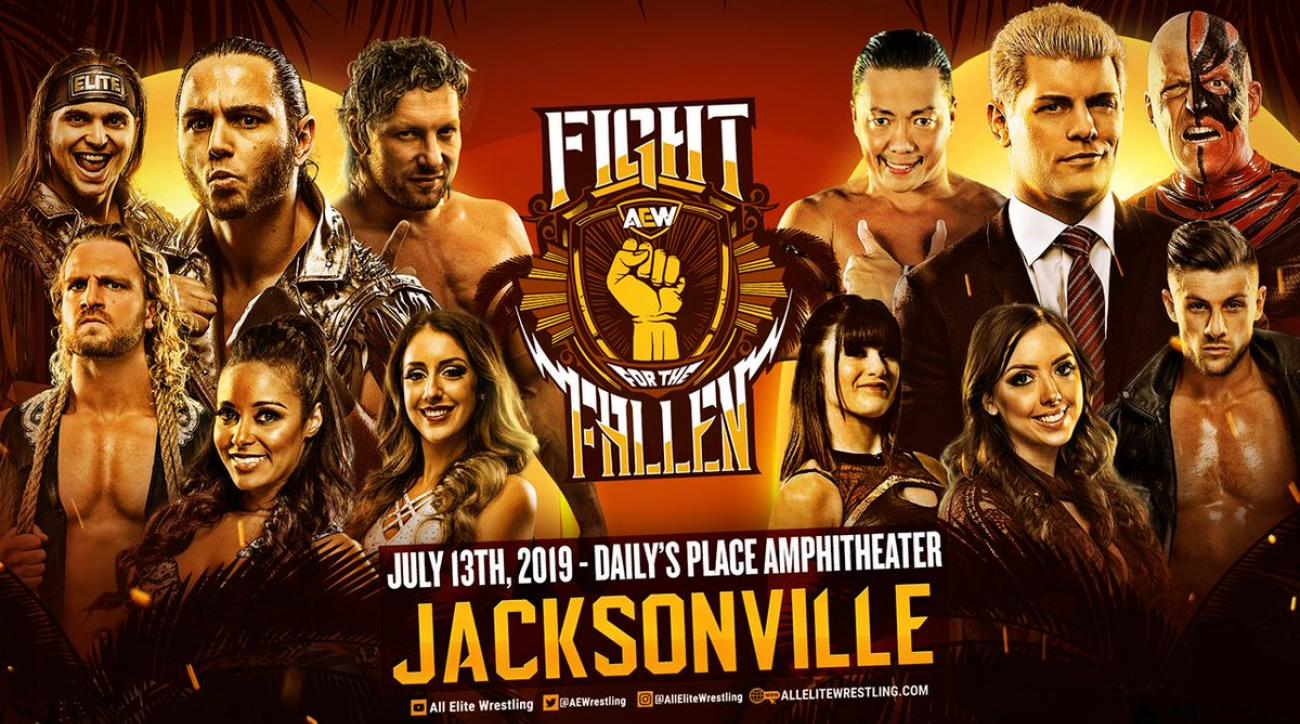 How to watch AEW 'Fight for the Fallen': Full match card, live stream, start time