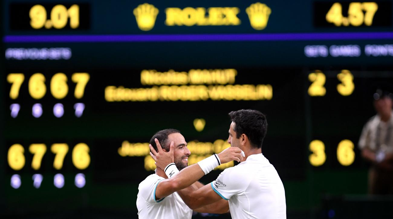 All Colombian team wins first Wimbledon title