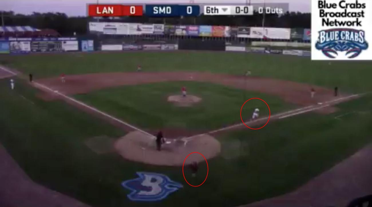 Atlantic League Player Makes History in First Successful Steal of First Base