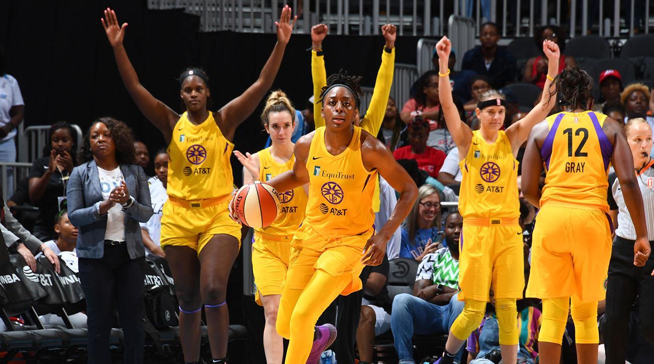 Los Angeles Sparks v Atlanta Dream